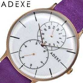 [当日出荷] アデクス 腕時計 ADEXE 時計 グランデ GRANDE メンズ ホワイト 1868D-03-JP17DC2 [ 正規品 人気 ブランド 流行 インスタ 映え オシャレ ファッション お揃い ペア おそろい 北欧 上品 シンプル スーツ ] [ プレゼント ギフト 新生活 ]