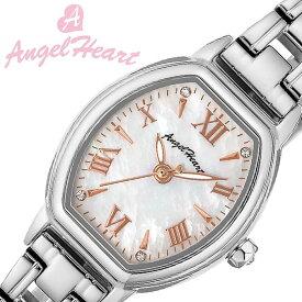 [当日出荷] エンジェルハート 腕時計 Angel Heart 時計 リュクス Luxe レディース ホワイト LU23SS [ 正規品 人気 ブランド ソーラー アクセサリー カジュアル シンプル 上品 キレイ系 可愛い オシャレ スーツ 仕事 ] [ プレゼント ギフト 新生活 ]