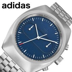 アディダス 腕時計 adidas 時計 プロセス クロノ M3 PROCESS CHRONO M3 メンズ ネイビー Z18-3179-00 [ 人気 ブランド カジュアル スポーツ ファッション おしゃれ ストリート プレゼント ギフト ]