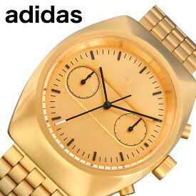 アディダス 腕時計 adidas 時計 プロセス クロノ M3 PROCESS CHRONO M3 メンズ ゴールド Z18-502-00 人気 ブランド カジュアル スポーツ ファッション おしゃれ ストリート プレゼント ギフト