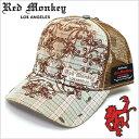 【在庫処分価格】 レッドモンキーキャップ [ REDMONKEY ]( RED MONKEY キャップ レッド モンキー 帽子 ) キャップ FOR…