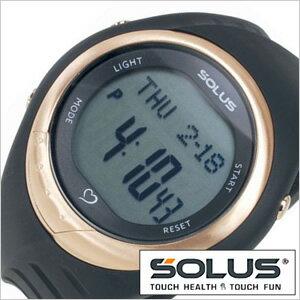 【正規品】 ソーラス 腕時計 SOLUS 時計 心拍時計 [ ハートレートモニター ] メンズ レディース 01-300-01 [ スポーツ ダイエット エクササイズ プレゼント ]【 ランニングウォッチ 】