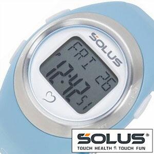 【正規品】 ソーラス 腕時計 SOLUS 時計 心拍時計 [ ハートレートモニター ] メンズ レディース 01-800-03 [ スポーツ ダイエット エクササイズ プレゼント ]【 ランニングウォッチ 】