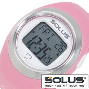 ランニングウォッチ 心拍時計 ソーラス 腕時計 SOLUS 時計 レジャー800 Leisure メンズ レディース 01-800-07 ランニング ジョギング ウォーキング ダイエット スポーツウォッチ スポーツ 運動 健康