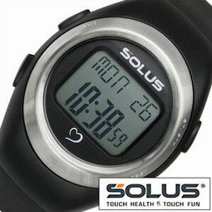 【正規品】 ソーラス 腕時計 SOLUS 時計 心拍時計 [ ハートレートモニター ] メンズ レディース 01-800-201 [ スポーツ ダイエット エクササイズ ]【 ランニングウォッチ 】