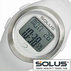 【正規品】 ソーラス 腕時計 SOLUS 時計 心拍時計 [ ハートレートモニター ] メンズ レディース 01-800-202 [ スポーツ ダイエット エクササイズ プレゼント ]【 ランニングウォッチ 】