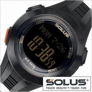 【正規品】 ソーラス 腕時計 SOLUS 時計 心拍時計 [ ハートレートモニター ] メンズ レディース 01-101-01 [ スポーツ ダイエット エクササイズ プレゼント ]【 ランニングウォッチ 】