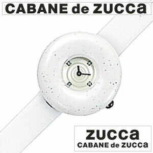 【正規品】 カバンドズッカ 腕時計 CABANE de ZUCCA 時計 ズッカ サンドウォッチ [ SANDWATCH ] ホワイト レディース AWGK029