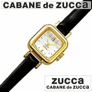 【正規品】 カバンドズッカ 腕時計 CABANE de ZUCCA 時計 ズッカ キャラメル [ CARAMEL ] ブラック メンズ レディース AWGP007