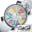 ガガミラノ 腕時計 [ GaGa MILANO 時計 ] ガガ ミラノ マヌアーレ [ MANUALE ] メンズ レディース 5020.1 [ ブランド プレ...