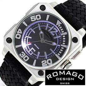 ロマゴデザイン 腕時計 ROMAGO DESIGN 時計 ロマゴ クール [ COOL ] メンズ レディース ディース RM018-0073PL-SV
