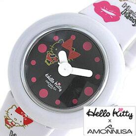ハローキティ 時計 Hello Kitty 腕時計 ハローキティー腕時計 かわいい時計 キッズ 子供 ホワイト W-KISS-WHBK [ キティーちゃん グッズ キッズウォッチ ジュニア 子供用 男の子 女の子 孫 姪 甥 兄弟 姉妹 プレゼント ギフト キャラクター 入学 入園 ]