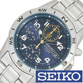 セイコー 腕時計 SEIKO 時計 クロノグラフ メンズ SND379P [ メンズ腕時計 腕時計メンズ サバゲ 米軍 特殊部隊 ミリタリー ブランド カジュアル 防水 夜光 ステン メタル ネイビー 逆輸入 海外 ]