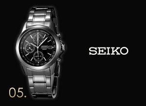 【レビューを書いて特別価格+無料!】セイコー腕時計[SEIKO時計](SEIKO腕時計セイコー時計)クロノグラフ/メンズ時計/SND367PC