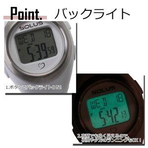 ソーラス腕時計[SOLUS時計](SOLUS腕時計ソーラス時計)心拍時計(ハートレートモニター)/メンズ/レディース/男女兼用時計/01-800-04[正規品スポーツダイエットエクササイズ]