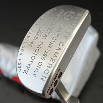 2 ■ Scotty Cameron Newport fastback P330 experimental prototype