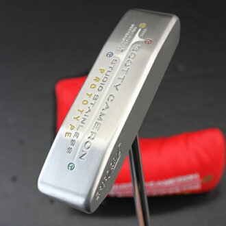 2 ■ Scotty Cameron Studio Stainless Newport 2 Center shaft circle T putter 33 inches