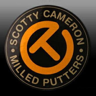 2 ■ Scotty Cameron 圈 T 校车黄色不干胶标签