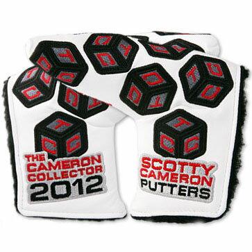【Scotty Cameron】【HC648】タイトリスト スコッティキャメロン 2012 TCC コレクター ヘッドカバー(パターカバー)/タイトリスト スコッティ キャメロン パターカバー