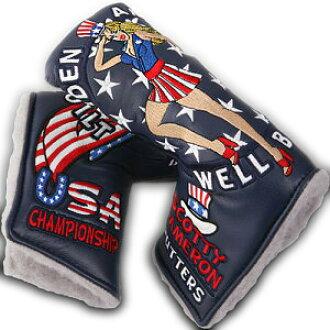 紧凑的清单斯科蒂卡梅伦2013 US公开Maiden America(Navy)脑袋覆盖物(推杆覆盖物)/紧凑的清单斯科蒂卡梅伦推杆覆盖物