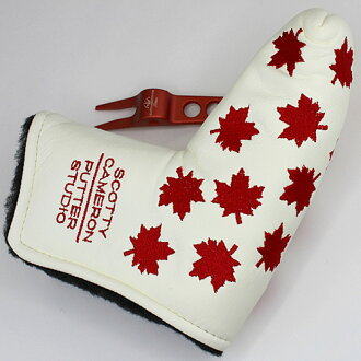 Titleist Scotty Cameron 2003 maple leaf head (type) / Titleist Scotty Cameron putter cover