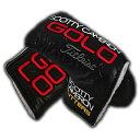 【Scotty Cameron】【HC799】スコッティキャメロン 2015 GOLO ヘッドカバー(ミッドマレットサイス パターカバー)