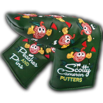 2 ■ Scotty Cameron 2015 年大师桃子-&-针脚针脚桃子和顶盖 (类型) Titleist Scotty Cameron 推杆盖