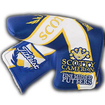 【ScottyCameron】【HC821】スコッティキャメロン 2015 全英オープン Scottish Flag - Standard ヘッドカバー(パターカバー) タイトリスト スコッティ キャメロン パターカバー