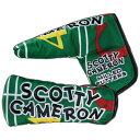 【Scotty Cameron】【HC920】スコッティキャメロン 2017 ギャンブラー GAMBLER - GREEN - PUTTER ヘッドカバー(パタ...