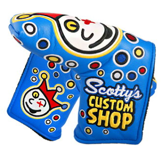 2 ■ Scotty Cameron 2015 custom shop jackpot Johnny blue standard cover (type)