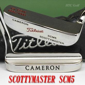 2 ♦ Scotty Cameron 1996 SCOTTYMASTER SCM5 Scotty 主 34 英寸推杆