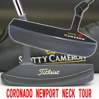 2 ■ Titleist Scotty Cameron classic Coronado Newport neck tour dot 33.5 inch tour putters, Titleist Scotty Cameron tour putters