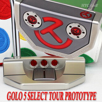 2 ♦ Scotty Cameron GOLO 5 Select tour prototype SSS deep milled circle T-34 inch tour putter
