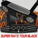 【Scotty Cameron】【T751】スコッティキャメロン スーパーラット 2 TOUR BLACK FINISH SSS / GSS INLAY サークルT 34…