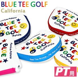 【BLUE TEE GOLF/ブルーティーゴルフ】ゴルフヘッドカバー パターカバー マレットタイプスマイル&ピンボール (パター用 ゴルフグッズ )【楽ギフ_包装】