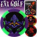 【エヴァンゲリオン ゴルフ / EVANGELION GOLF】 カジノチップマーカー カラー 3枚セット( EVAGOLF エヴァゴルフ ゴルフ マーカー ボ...