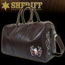 【SHERIFF/シェリフ】SFW-006 ボストンバッグ MOCHA モカウェスタンシリーズ ヴィンテージコレクション (ゴルフバッ…