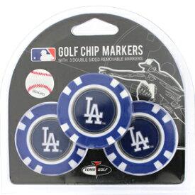 【ロサンゼルス ドジャース/Los Angeles Dodgers】 ポーカーチップ ゴルフマーカー 3個セット [ボールマーカー ゴルフ用品 ゴルフ グッズ MLB メジャーリーグ 野球]【楽ギフ_包装】