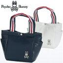 【Psycho Bunny/サイコバニー】 2018年モデル A/A FLAG ラウンドトートバッグ PBMG8SB2(ゴルフバッグ ゴルフ用品 ゴ…