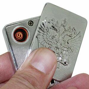 【TO】【訳アリ/アウトレット】充電式 USBライター 2色組 コンペ景品 賞品にもおススメ