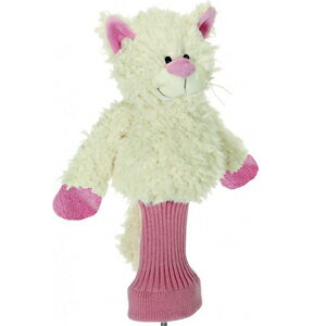 【Pink Collection】【アニマル/動物】クララ・ザ・キャット ゴルフヘッドカバー(ドライバー用 460cc対応 ゴルフグッズ )[父の日 ギフト プレゼント]【楽ギフ_包装】