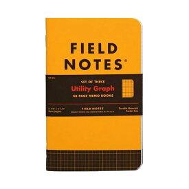 【限定】FIELD NOTES フィールドノート メモブック UTILITY GRAPH