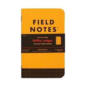 【限定】FIELD NOTES フィールドノート メモブック UTILITY LEDGER
