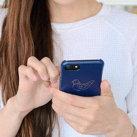 ニューレトロ iPhoneケース (鳥)