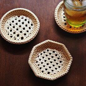 松野屋 籐茶托