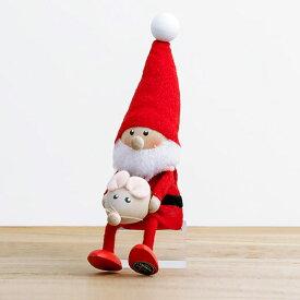 【2019年新作】NORDIKA DESIGN ノルディカ ニッセ 人形 ネズミを抱えたサンタ