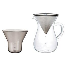 KINTOキントーSCSコーヒーカラフェセット4cups