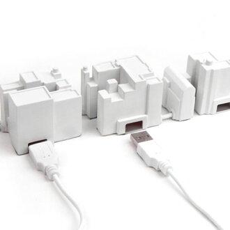 Kikkerland quicker land USB lonely city hub USB lonely city hub [HD1065]