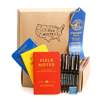 FIELD NOTES field notes box set COUNTY FAIR [FB008]