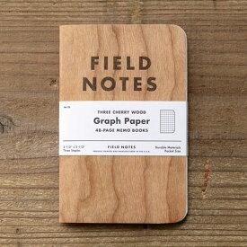 FIELD NOTES フィールドノート メモブック 3-PACKS CHERRY GRAPH
